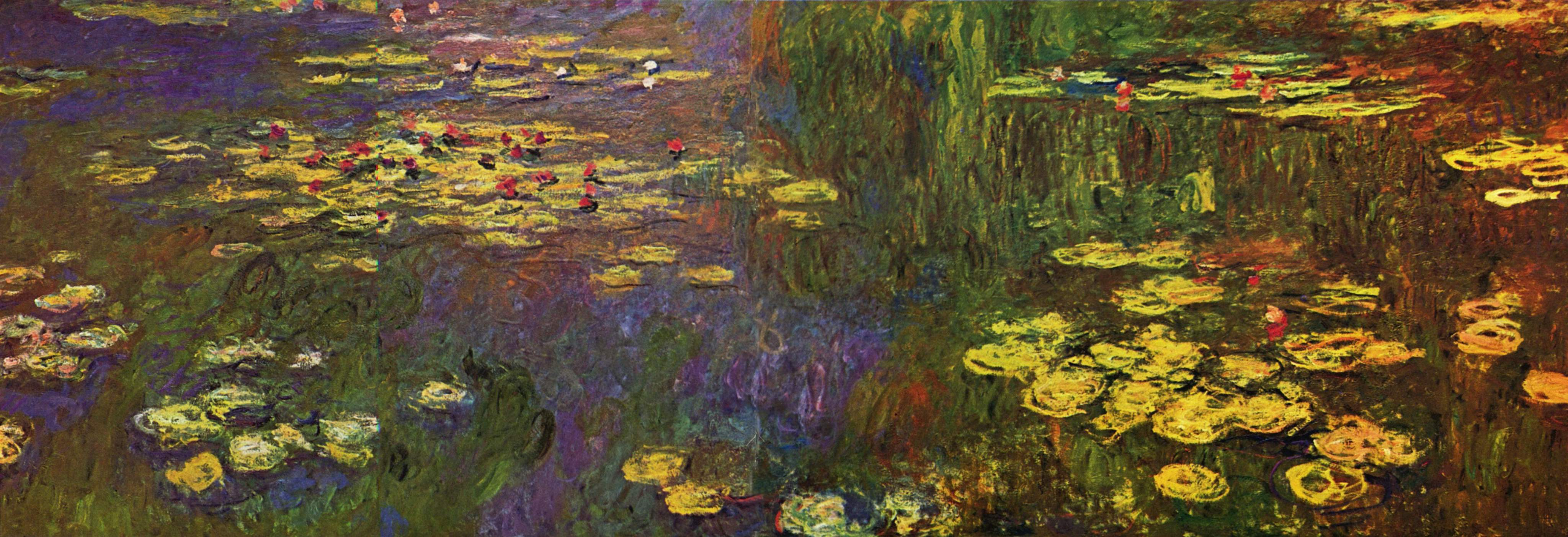 formal analysis of claude monet paintings Art analysis: claude monet's water lilies  critics picked up on the title of one of claude monet's paintings, impression, sunrise 1872.