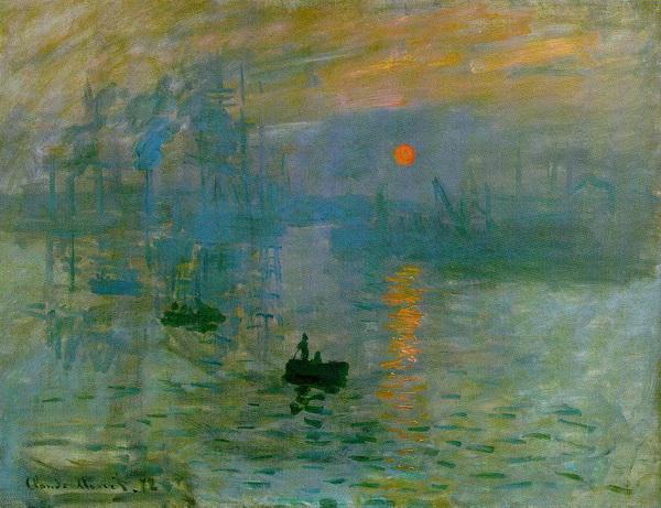 Клод Моне. картина <Впечатление, восход солнца>