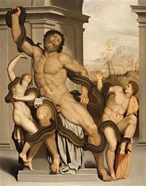 Алессандро Аллори, Лакоон ( Alessandro Allori (1535-1607) - Laocoon )