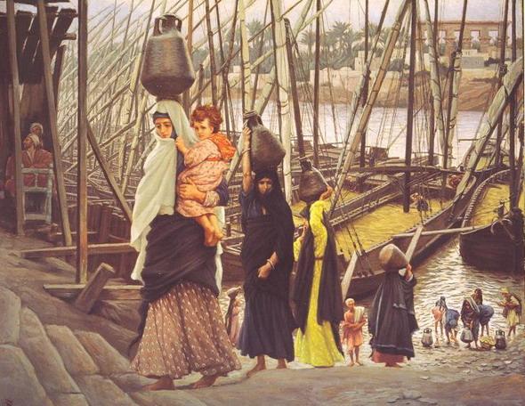Джеймс Тиссот. Жизнь в Египте. 1886 – 1894. (Дублин, Национальная галерея Ирландии)