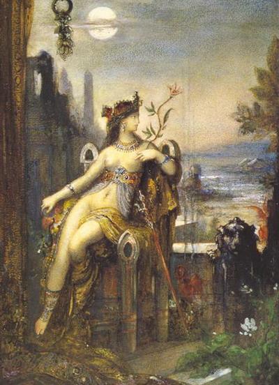 Гюстав Моро. Клеопатра. 1887. (Париж, Лувр).