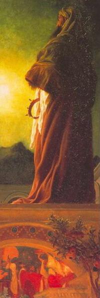 Лорд Фредерик Лейгхтон. Вифлеемская звезда. 1862. (Частная коллекция)