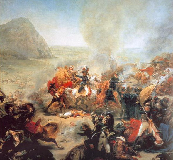 Барон Антуан-Жан Грос. Битва при Назарете 8 апреля 1799 года. 1801. Фрагмент  (Нантс, Музей изящных искусств)