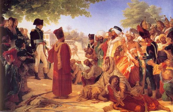 Пьер Нарцисс Герин. Бонапарт прощает восставших в Каире 23 Октября 1798 года. (Версаль, Национальный музей Шато).