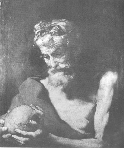 картина <Св. Иероним> ХОСЕ де РИБЕРА