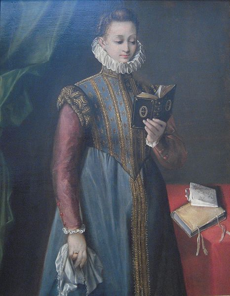 Портрет Квинтилии Фисчиери, 1600, БАРОЧЧИ, ФЕДЕРИКО (BAROCCI, FEDERICO)