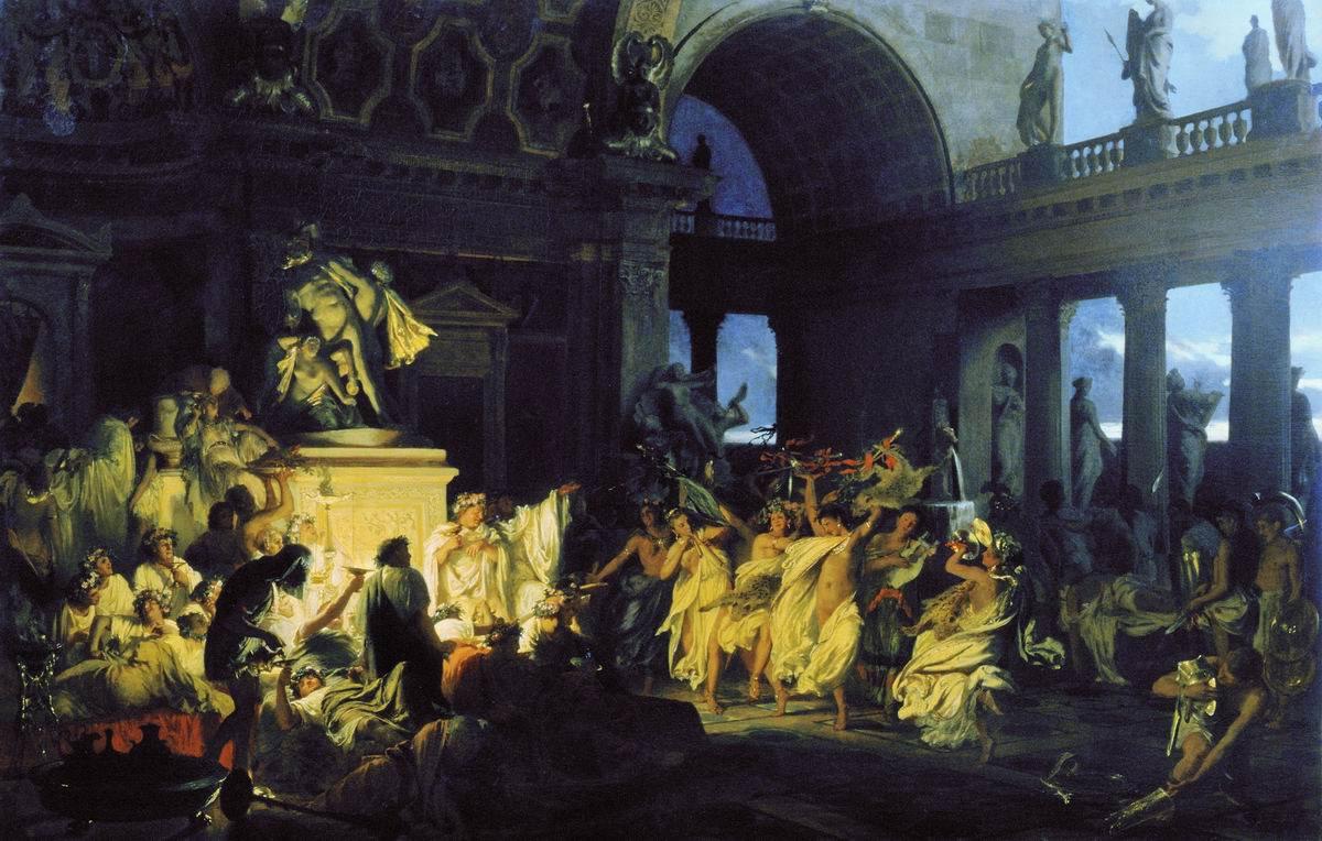 Оргии времн римской империи
