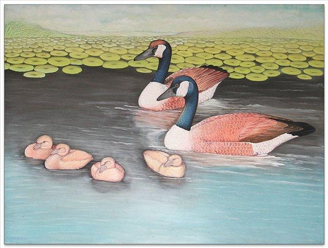 картина Семейство :: Гобанг - Современная живопись Индонезии фото