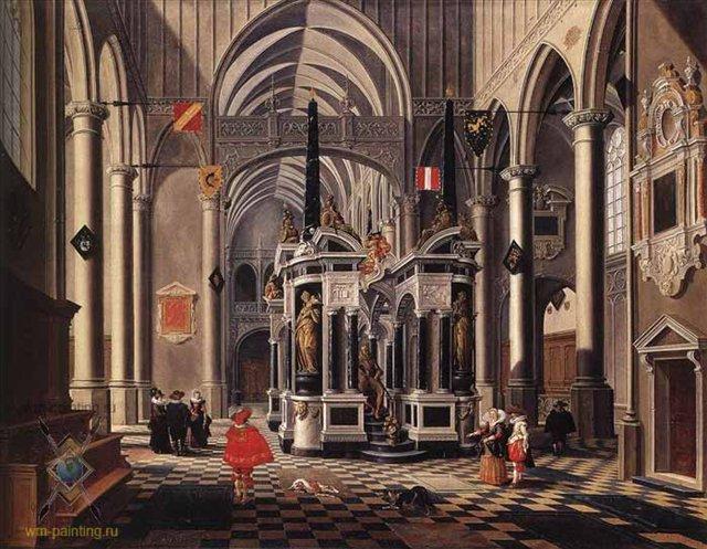 Интерьер в стиле готика :: Бартоломео ван Бассен ( Дания ) - Готика ( интерьер, декор) фото