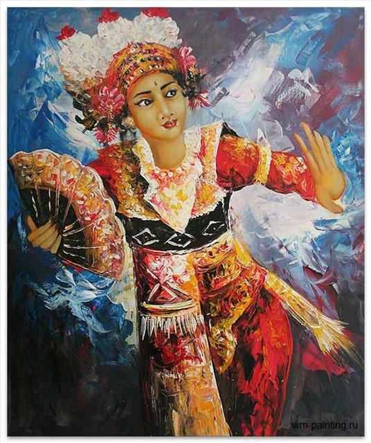 Экспрессия Легонга ::  Гобанг ( Индонезия, Бали ) - Современная живопись Индонезии фото