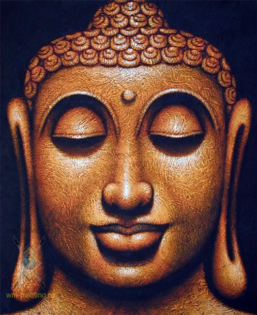 картина Будда :: Гобанг (Индонезия, Бали ) - Современная живопись Индонезии фото