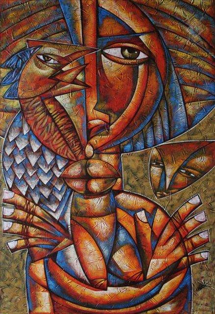 Без названия 2 :: Мигель Альберто Лабрада ( Куба )  [ кубизм ] - Кубизм фото