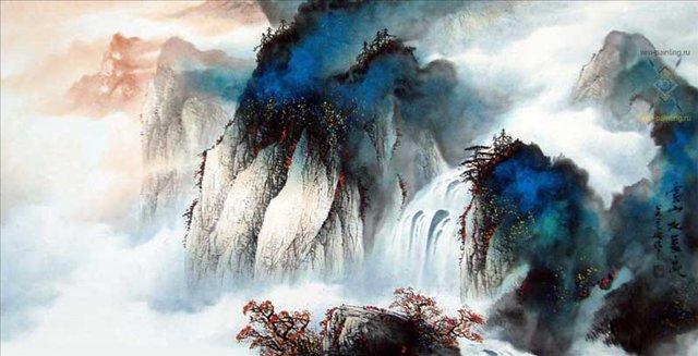 Осенний водопад :: У Чань Янь ( Ву Чанган) ( Китай ) - Галереи фото