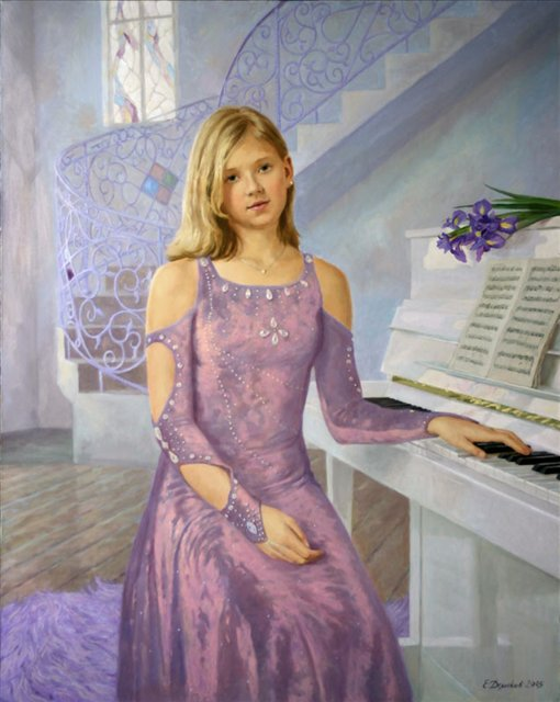 детский портрет < Саша  >  :: Е. Демаков - Детский портрет фото