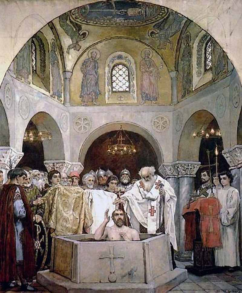 Крещение князя Владимира :: Васнецов Виктор Михайлович - Разное фото