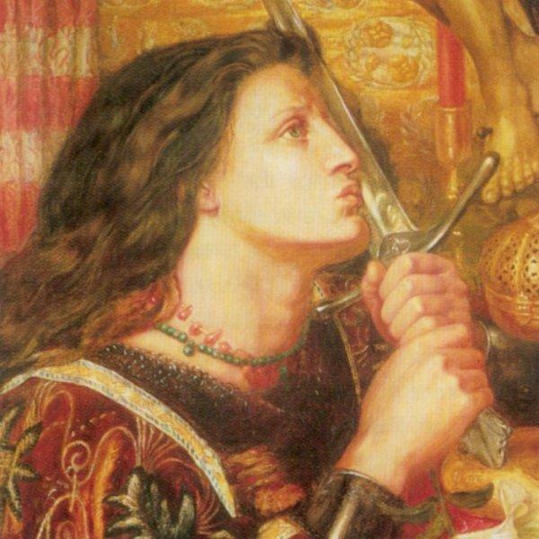 портрет Жанна д'Арк Данте Габриэль Россетти - Разное фото