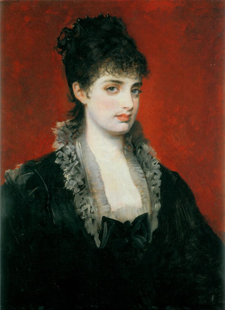 портрет Анна фон Вальберг :: Ганс Макарт - Разное фото