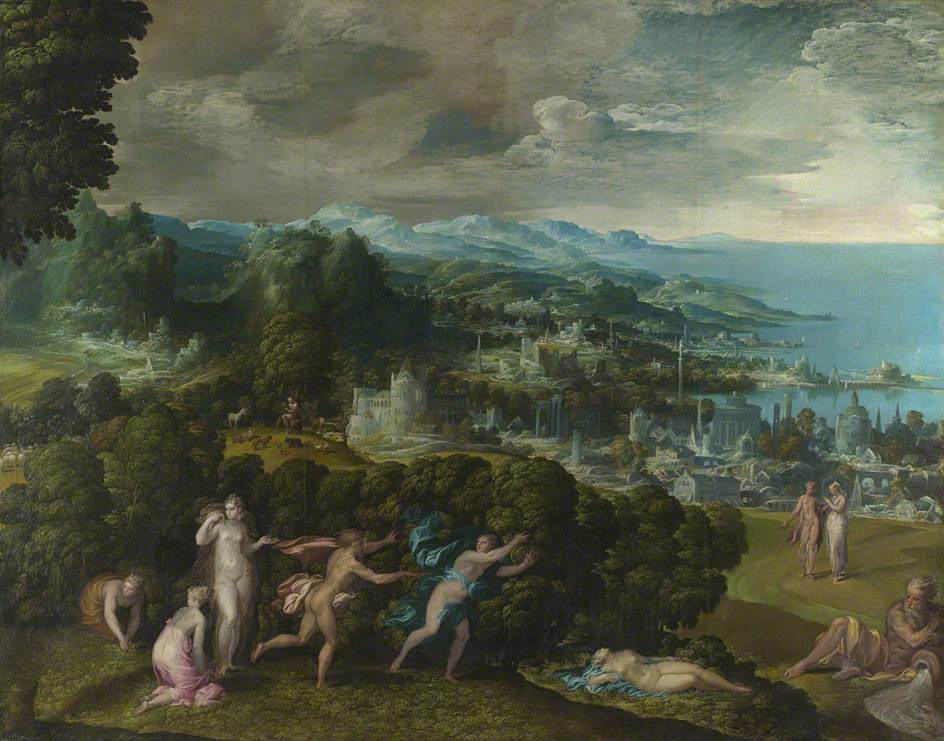 Орфей и Эвридика - Никколо дель Аббате - итальянская живопись 16 века - Разное фото