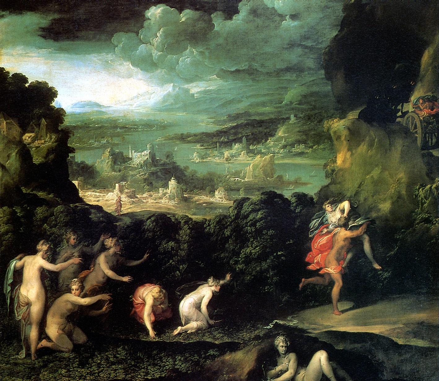 Похищение Прозерпины - Никколо дель Аббате - итальянская живопись 16 века - Разное фото