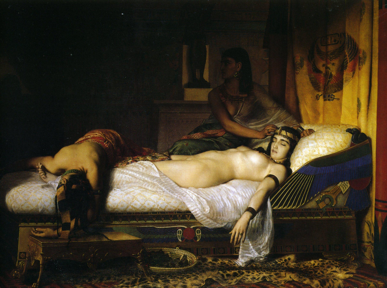 Жан Андре Риксен картина Смерть Клеопатры (1874) - Разное фото