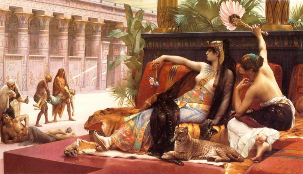 Александр Кабанель: «Клеопатра испытывает яд на приговоренных к смерти»  - Разное фото
