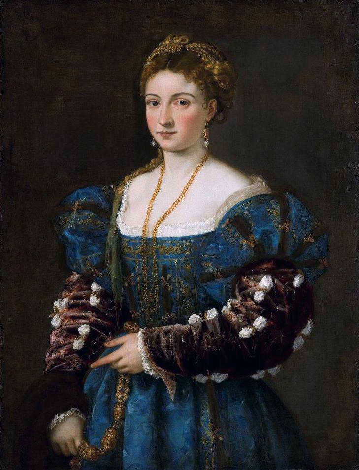 Тициан, картина Изабелла д'Эсте, галерея Палатина - Разное фото