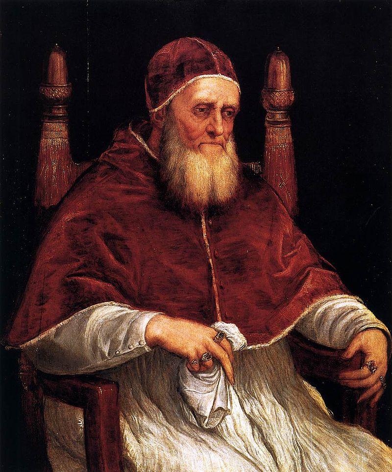 Тициан Портрет папы Юлия II галерея Палатина - Разное фото