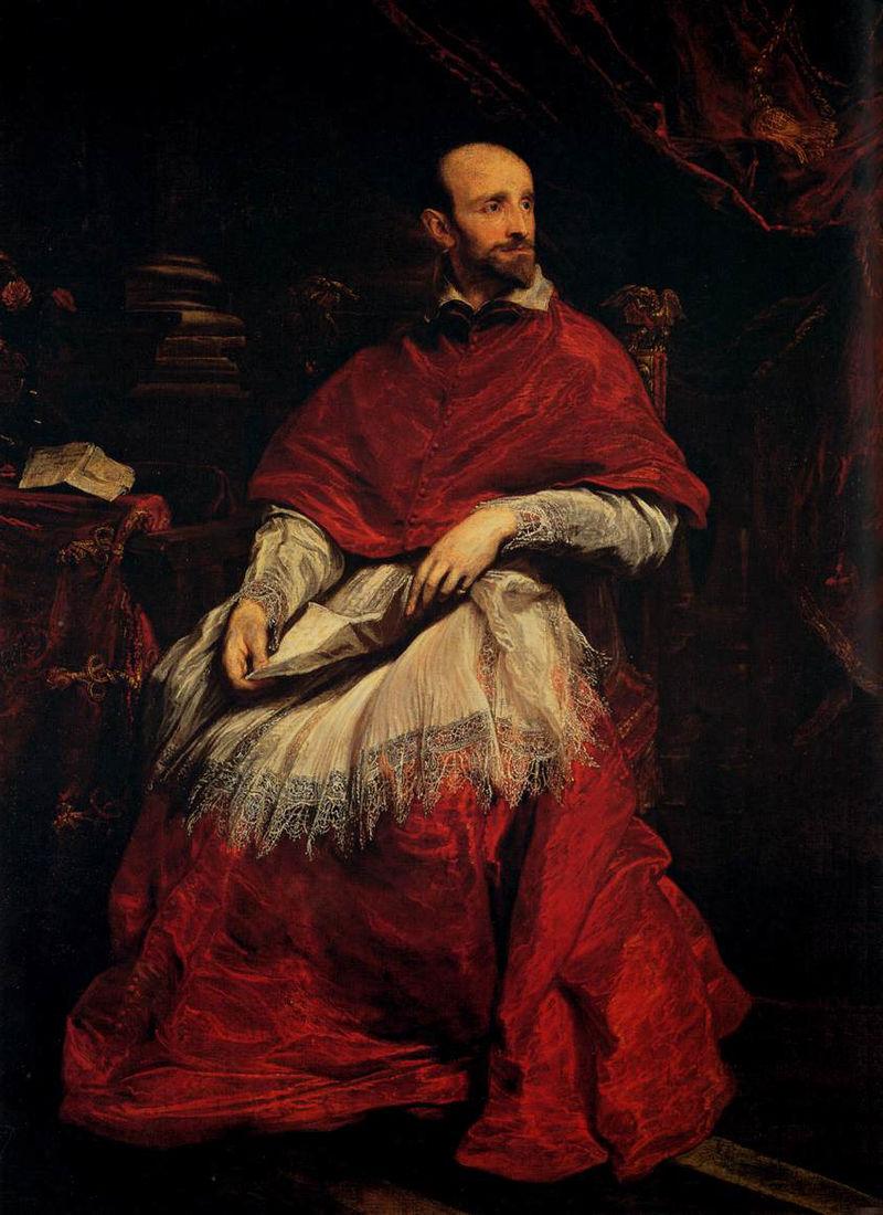 Портрет кардинала Гвидо Бентивольо :: Антонис ван Дейк - Разное фото