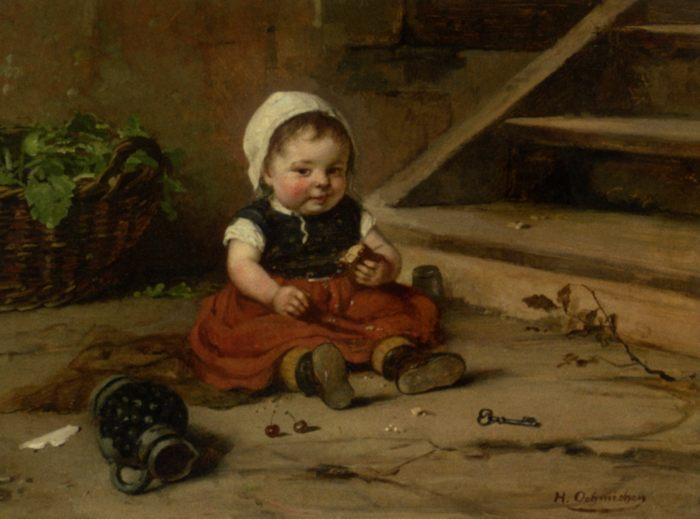 Работы хужожников разных стран и эпох в разных стилях по теме: портреты детей.