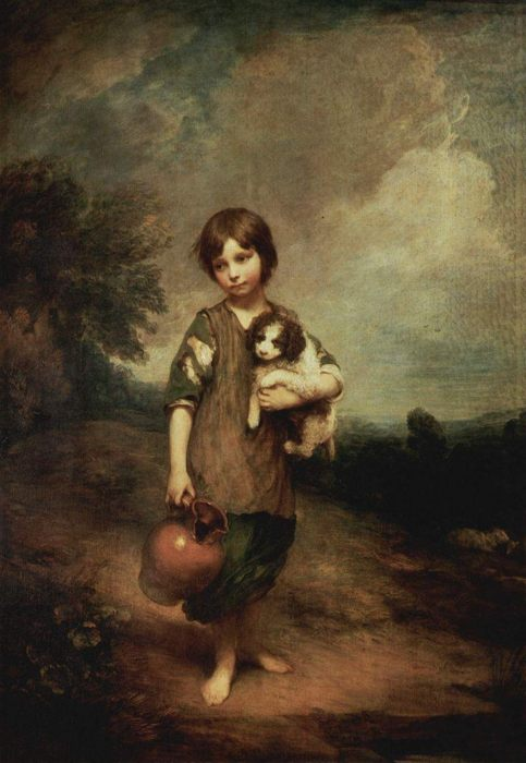 """Фото (репр. картины) для статьи: """"Детский портрет в живописи"""""""