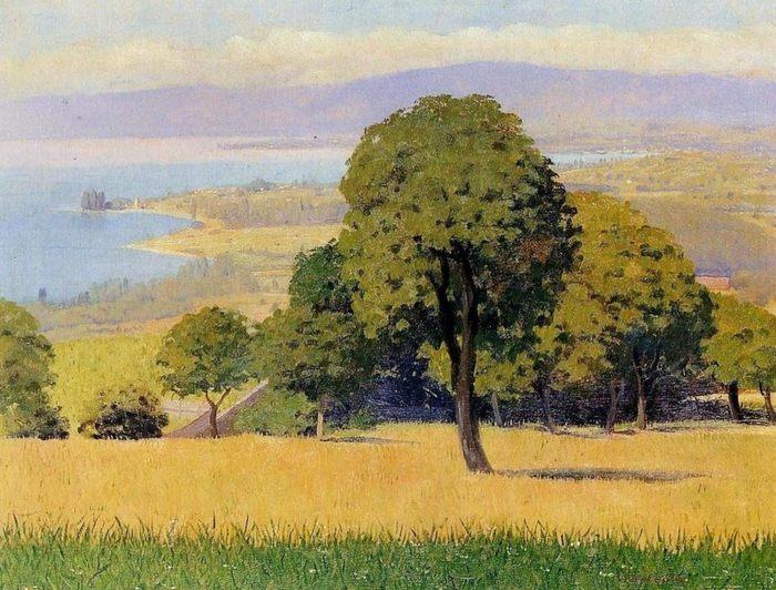 Шедевры французской живописи. Feliks Valloton (Феликс Валлотон) (1865-1925). Пейзажи и натюрмортыФеликса Эдуарда Валлоттона обычно считают...