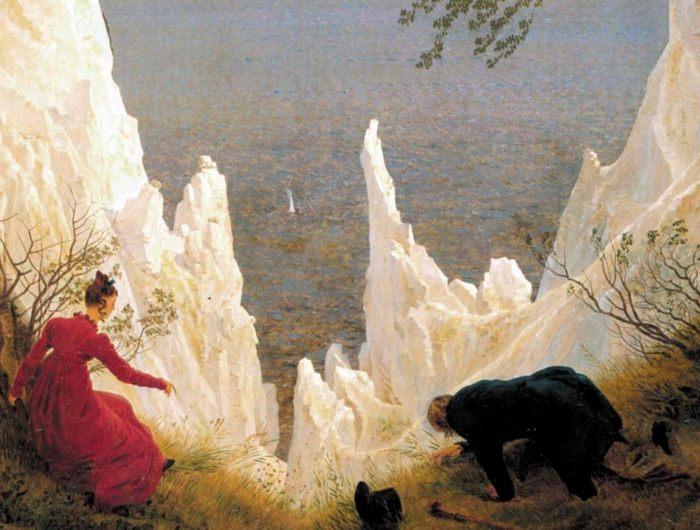 """Фото (репр. картины) для статьи: """"Каспар Давид Фридрих. Меловые скалы Рюгена, описание картины"""""""