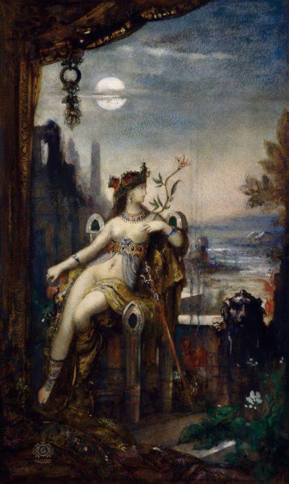 """Фото (репр. картины) для статьи: """"Клеопатра в искусстве и живописи: экзотическая королева и роковая женщина"""""""