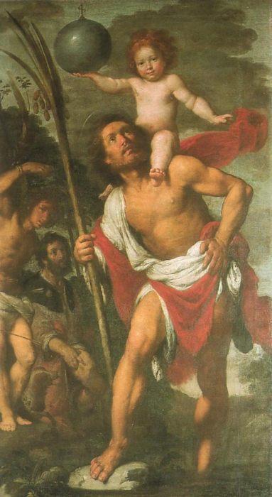 """Фото (репр. картины) для статьи: """"Строцци, Бернардо - религиозная и жанровая живопись 17 века, портреты"""""""