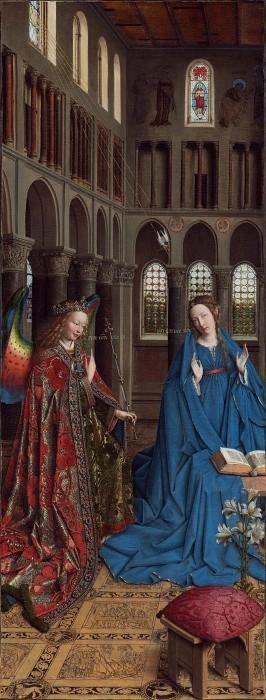 """Фото (репр. картины) для статьи: """"Ян ван Эйк - фламандский живописец XV века, картины, биография, живопись"""""""