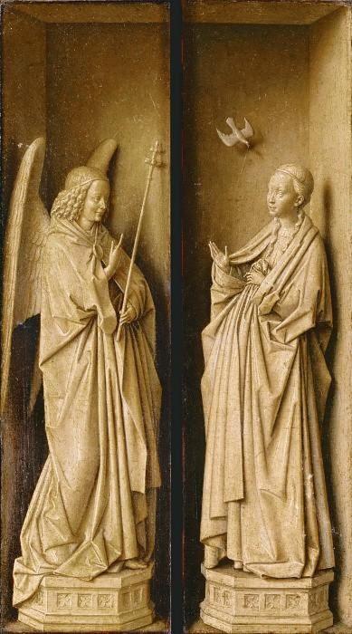 """Фото (репр. картины) для статьи: """"Ян ван Эйк - фламандский живописец 15 века, интерьеры, портреты, религиозная живопись"""""""