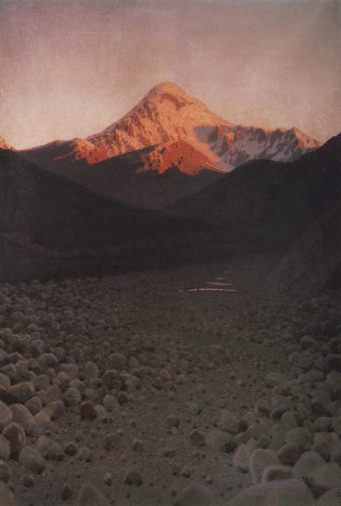 """Фото (репр. картины) для статьи: """"Горные пейзажи, картины Верещагина В.В."""""""