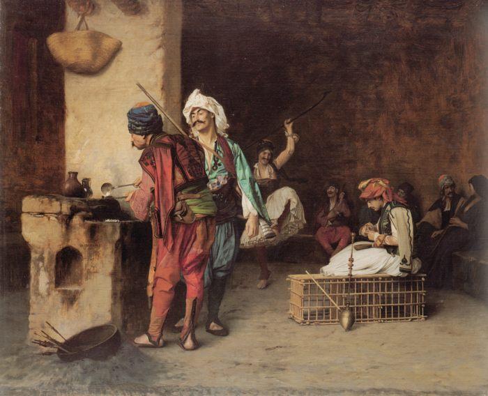 Кафе в Кире :: Жан Леон Жером - Арабский стиль фото