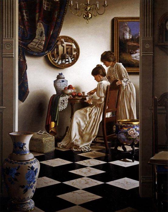"""Фото (репр. картины) для статьи: """"Английский стиль в интерьерах и живописи"""""""
