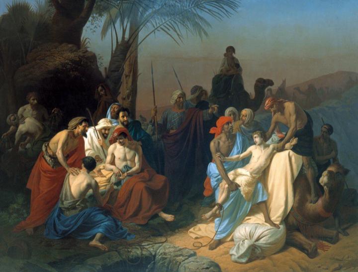 """Фото (репр. картины) для статьи: """"Библейские сюжеты в мировой живописи"""""""