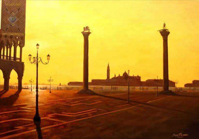 Венецианский закат -  Серджио Зампьери ( Италия ) фото