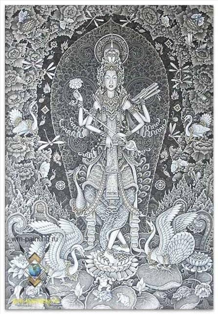 В тени Сараватши :: Ньоман Рупа ( Бали )  -  Ньоман Рупа ( Индонезия ) фото