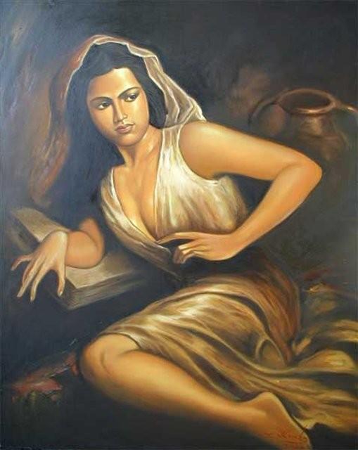 Девушка :: Росана ( Бали) - НЮ - современная эротическая живопись фото