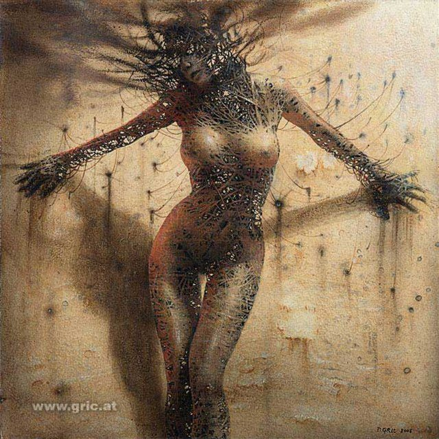 картина Превращение IV ( Reconfiguration IV ) :: Петер Гриц - Фэнтэзи, сюрреализм, магический реализм фото