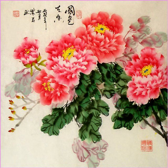 Благоухающие цветы :: Фен Чанг - Современный натюрморт художников мира фото