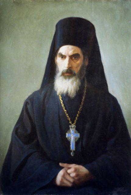 Портрет священника :: Е. Демаков - Мужской портрет фото