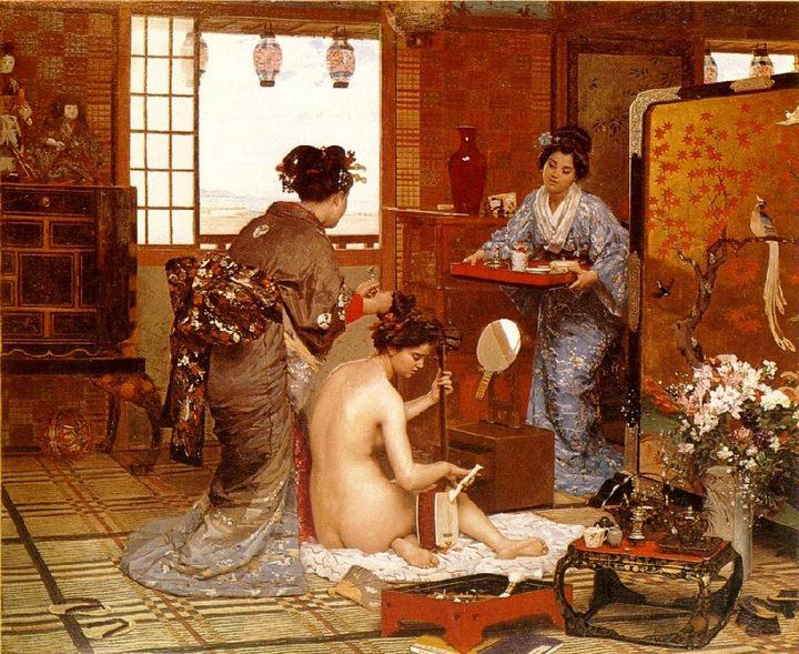 Японский интерьер :: М.Ф. Жерар - Азиатский, китайский, японский ( декор интерьера) фото