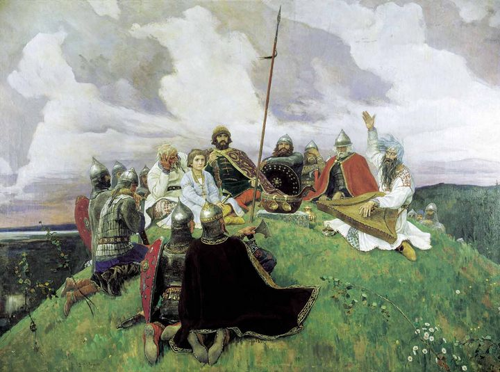 картина Баян :: Васнецов Виктор Михайлович - Разное фото
