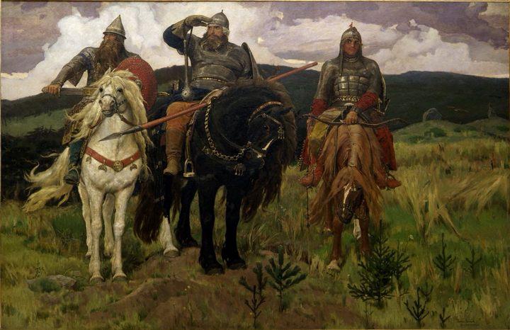 Васнецов Виктор Михайлович. картина «Богатыри», описание - Разное фото