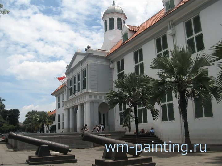 Исторический музей Джакарты.  (Museum Sejarah di Jakarta, Jl. Taman Fatahillah No. 1 Jakarta Barat)